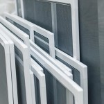 Set of Mosquito Nets Frames for PVC Windows